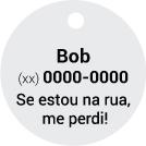 Nome + 1 Telefone + Frase