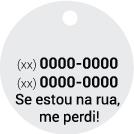 2 Telefones + Frase