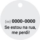 1 Telefone + Frase