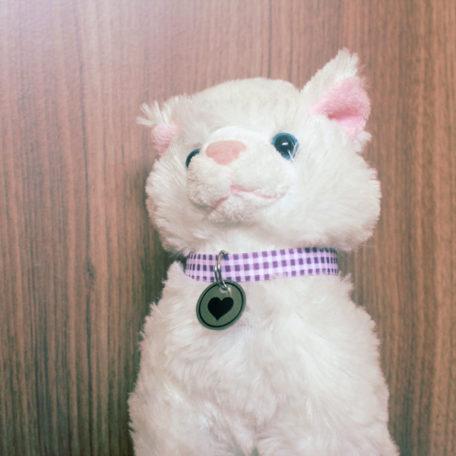 Coleira Comfy Cat Gatinho Branco