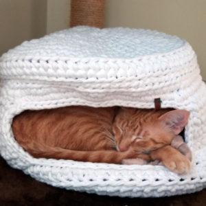 Toquinha de Crochet