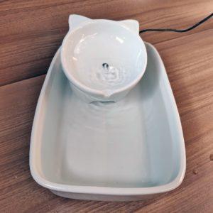 Fonte de porcelana