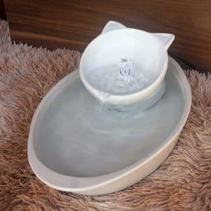 Fonte de porcelana – Oval